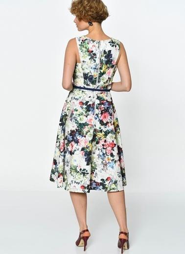 PAPER DOLLS Elbise Renkli
